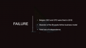 The Brussels Airlines Takeover – Student Presentation